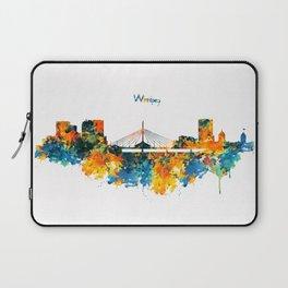 Winnipeg Skyline Laptop Sleeve