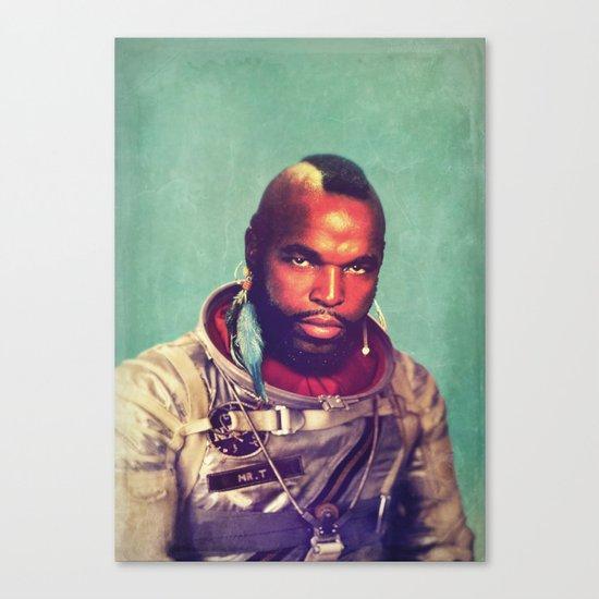 I ain't gettin on no rocket Canvas Print