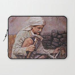 Blacksmith - oil painting old arabain worker man Laptop Sleeve