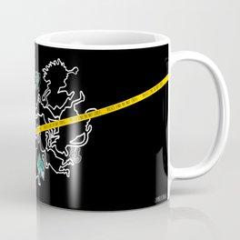Smashing Chalk Outline Coffee Mug