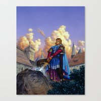 tyrion Canvas Prints featuring King Arthur by Hescox
