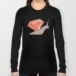 Jewel Snail Long Sleeve T-shirt