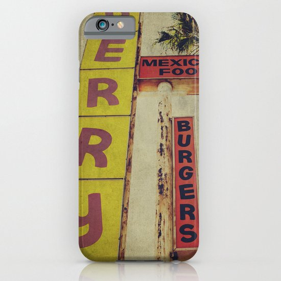 Perry's Vintage Sign iPhone & iPod Case