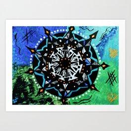 Vodou I Art Print