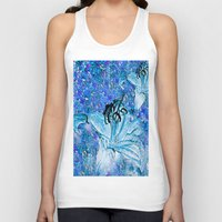 lily Tank Tops featuring Lily  by Saundra Myles