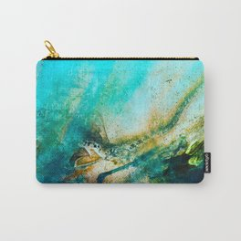 STORMY TEAL AP II Carry-All Pouch