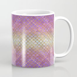 MERMAID SCALES PINK OMBRE Coffee Mug