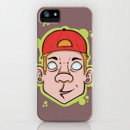 Hip Hop guy iPhone Case