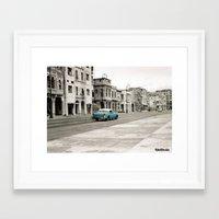 cuba Framed Art Prints featuring Cuba by Mismoshis