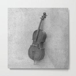 The Cello  Metal Print
