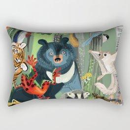 Ussuriland  Dersu´s dream Rectangular Pillow