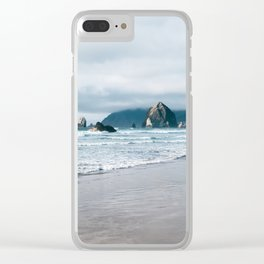 Cannon Beach VIII Clear iPhone Case
