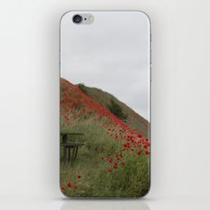 Hills of Poppies iPhone & iPod Skin