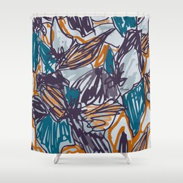 jungle 2 Shower Curtain