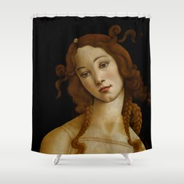 Sandro Botticelli Venus Sabauda Gallery Turin Shower Curtain