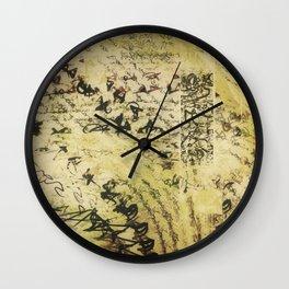 anthologise Wall Clock