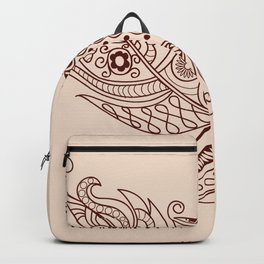 Fly feather Backpack