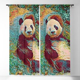 Popular Animals - Panda 1 Blackout Curtain