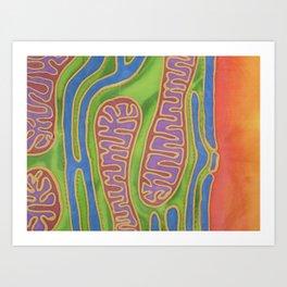 Mitonucleus II Art Print