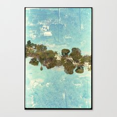 Landscapes c9 (35mm Double Exposure) Canvas Print