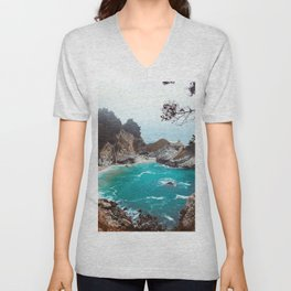 Julia Pfeiffer Burns State Park Unisex V-Neck