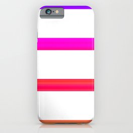 Warm lines iPhone Case
