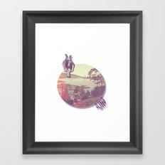 //juMP. Framed Art Print
