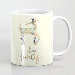 Stay Fancy, Deer Coffee Mug