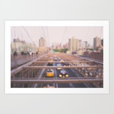 Brooklyn Bound Art Print