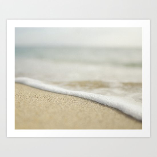 Sand and Surf Art Print