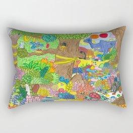 A Child's Dream Rectangular Pillow