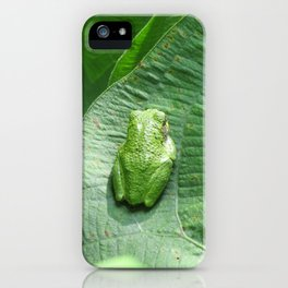Green Camouflage in the Arrowheads iPhone Case