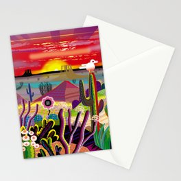 Sunrise in the Garden of Eden Stationery Cards