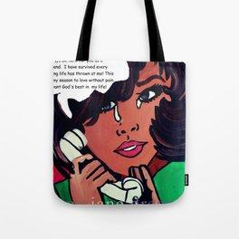 Popping Art Hello Tote Bag