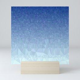 Blue Ombre - Flipped Mini Art Print
