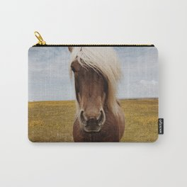 Icelandic Horse #4 Carry-All Pouch