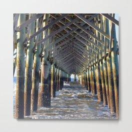 Under the Pier  Metal Print