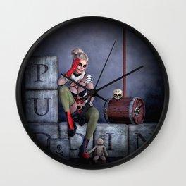 Puddin Wall Clock