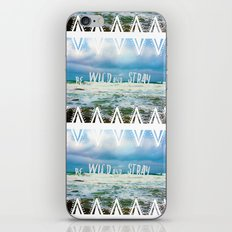 Be Wild and Stray. iPhone & iPod Skin