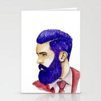 "john mayer Stationery Cards featuring ""John"" by MaarjaPB"