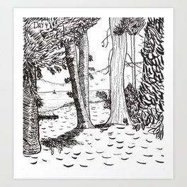 Day Four - Lake Tahoe Art Print