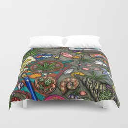 Colorado Coffee Tables Duvet Cover