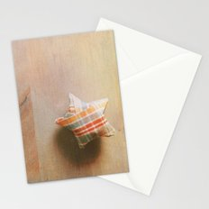 Plaid Lucky Star  Stationery Cards