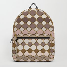 Pattern in Moroccan Style Backpack