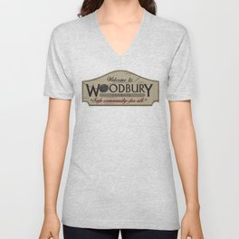 Welcome to Woodbury Unisex V-Neck