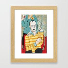 Motherboy XXX Framed Art Print