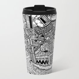 Geometric Mutations Metal Travel Mug