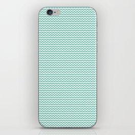 Chevron Mint iPhone Skin