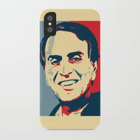 sagan iPhone & iPod Cases featuring Carl Sagan 'Hope' by cvrcak