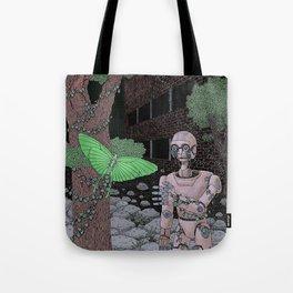 almost human Tote Bag